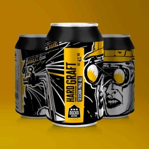 Docks Beers Hard Graft Session Pale Ale - 330ml cans