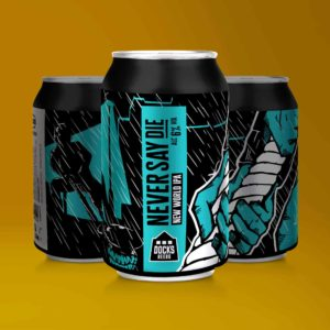 Docks Beers Never Say Die New World IPA - 330ml cans
