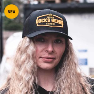 Docks Beers merchandise - Gold Logo Trucker Cap
