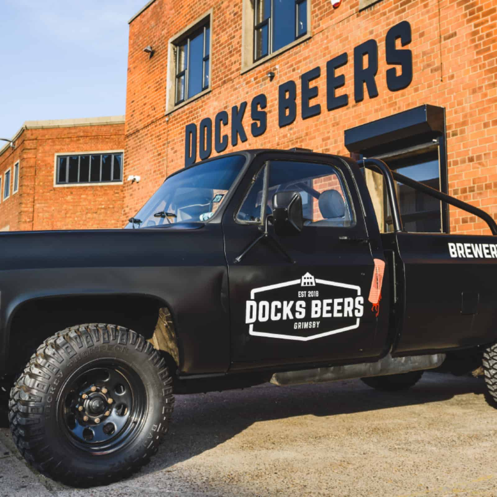 Docks Beers Branded 1979 Chevrolet GMC Pick-Up