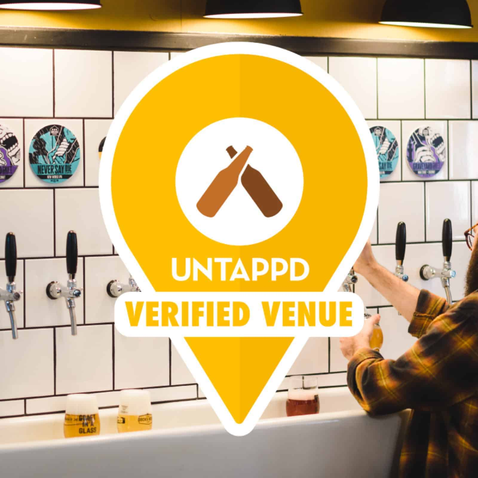 Docks Beers now verified on Untappd