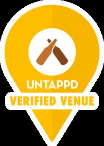 Untappd Verified Venue Map Marker