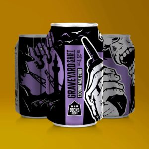 Docks Beers Graveyard Shift Coconut Milk Stout - 330ml cans