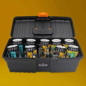 Docks Beers Large Toolbox gift set, opened