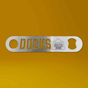 Stainless Steel Docks Beers branded Bar Blade