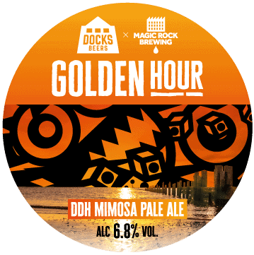 Docks Beers x Magic Rock Golden Hour DDH Mimosa Pale Ale