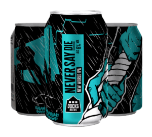 Core Range - Never Say Die New World IPA - 330ml Cans