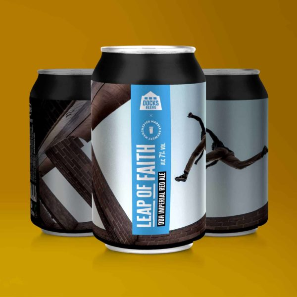Docks Beers x Marble Leap of Faith DDH Imperial Red Ale - 330ml cans