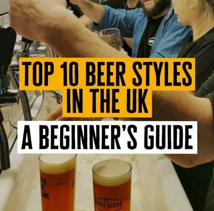 Top 10 Beer Styles Blog Featured Image