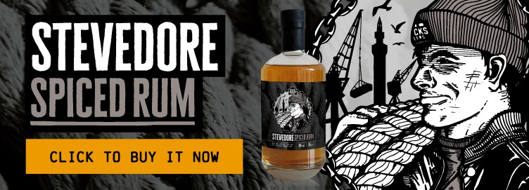 Stevedore Spiced Rum now available. Click to buy it now