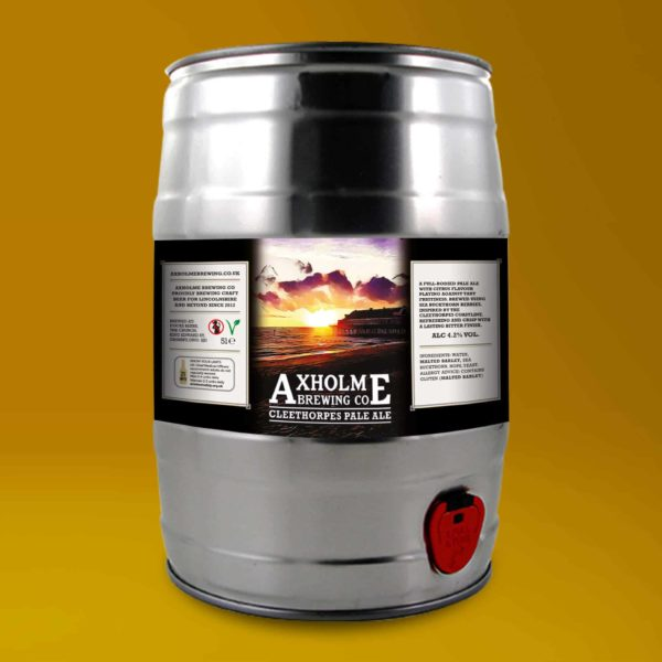 Axholme Brewing Co Cleethorpes Pale Ale - 5l Mini Cask