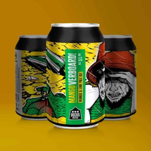 Docks Beers Mangoverboard! Mango & Lime Pale Ale - 330ml cans