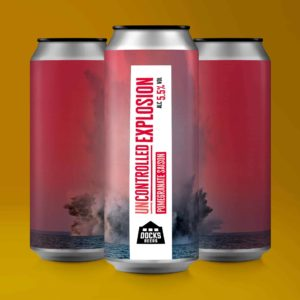 Docks Beers Uncontrolled Explosion Pomegranate Saison - 440ml cans