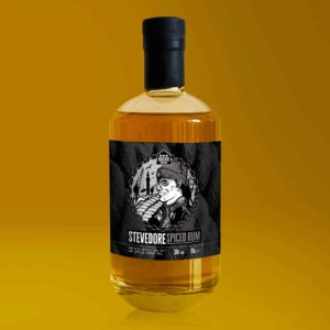 Docks Beers Stevedore Spiced Rum with spices, sea salt and seville orange peel - 70cl bottle