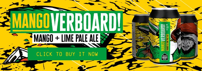 Mangoverboard! Mango & Lime Pale Ale - click to buy it now