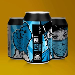 Docks Beers True Grit Kveik IPA - 330ml cans