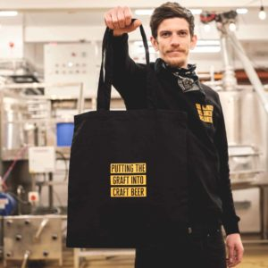 Docks Beers merchandise - 'Graft' Black Tote Bag