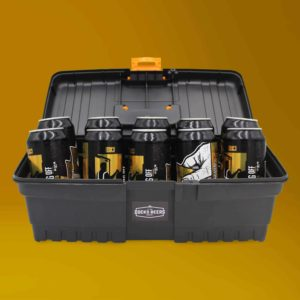 Docks Beers Clocking Off Toolbox Gift Set with 10 x 440ml cans