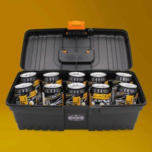 Docks Beers Hard Graft Toolbox Gift Set with 10 x 330ml cans