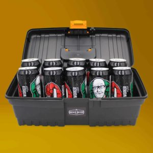Docks Beers Miracle Worker Toolbox Gift Set with 10 x 440ml cans