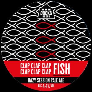 Docks Beers - Clap Clap Clap Clap Clap Clap Fish Hazy Session Pale Ale