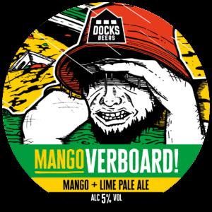 Docks Beers - Mangoverboard! Mango + Lime Pale Ale