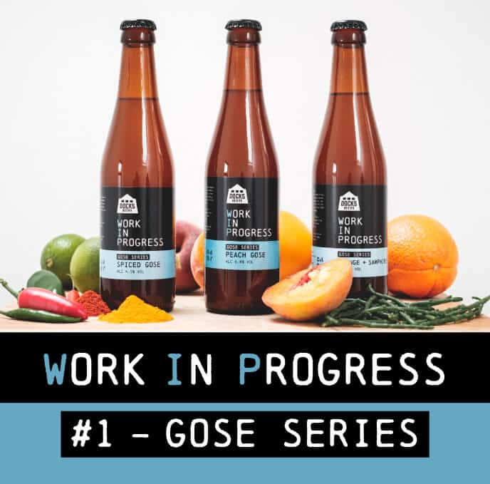 Docks Beers Work In Progress - #1 Gose Series